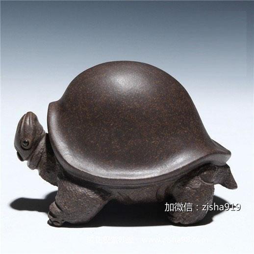 真正的茶友桌上怎能少了【顾正权紫砂壶】茶宠呢?